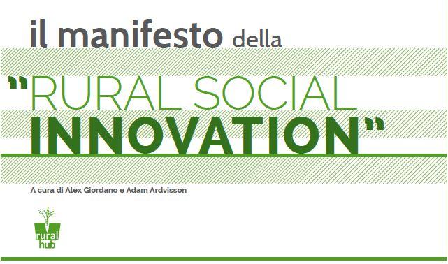 Un'economia rurale orientata al sociale, una Rural Social Innovation