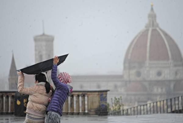 Cambiamento Climatico e distribuzione delle piogge